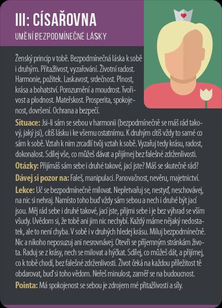 tarot císařovna